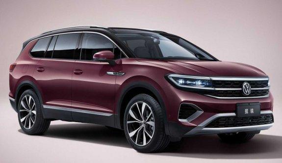 Touareg'in alternatifi: Volkswagen Talagon