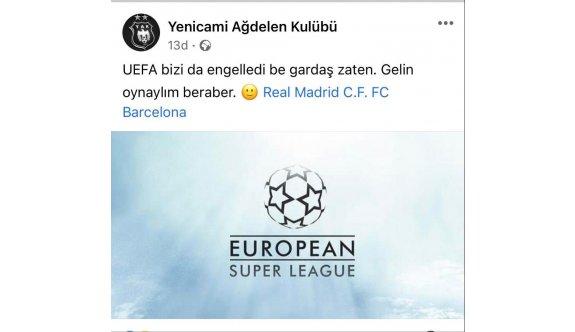 Yenicami, Madrid ve Barcelona'ya çağrı yaptı