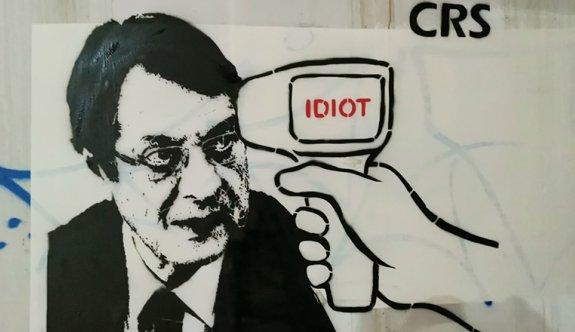 Anastasiadis'e karikatürle tepki