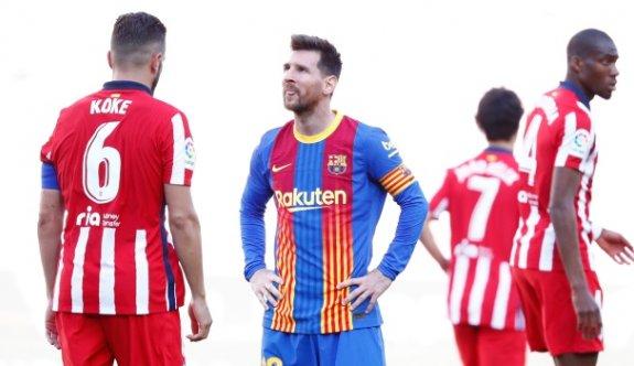 Barcelona ile Atletico Madrid berabere