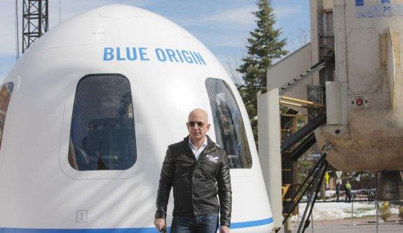 Blue Origin uzaya gitmek için verilen en yüksek teklifi açıkladı