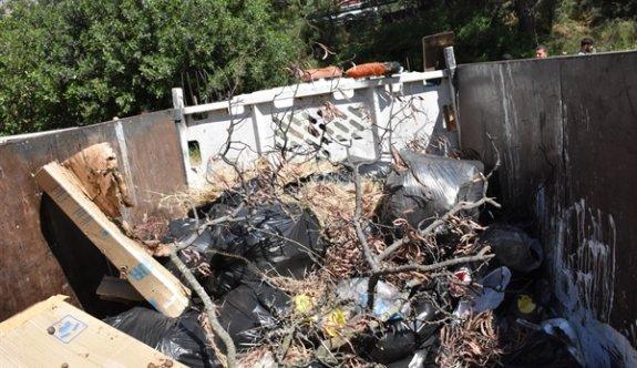 Boğaz Piknik alanından 253 çöp poşeti atık toplandı