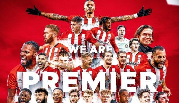 Brentford tarihinde ilk kez Premier Lig'de