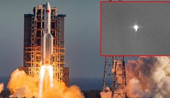 'Çin'in roketi cumartesi günü Dünya'ya düşebilir'