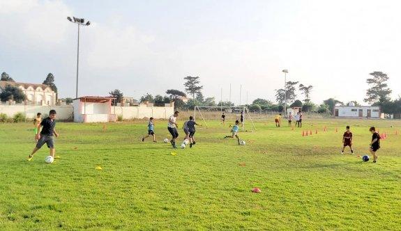 Dipkarpaz'da futbol eğitimi verilecek