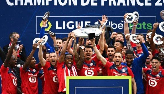 Fransa'da şampiyon Lille
