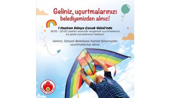 Gönyeli Belediyesi, Dünya Çocuk Günü'nde uçurtma dağıtacak
