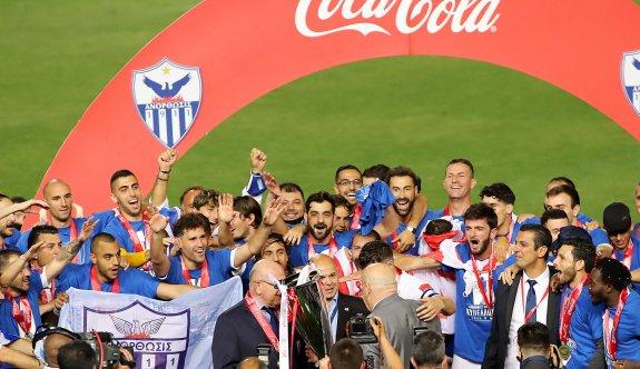 Güney'de kupayı Anorthosis kazandı