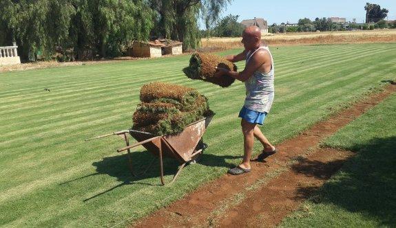 Kaplıca'da çimlendirme zamanı