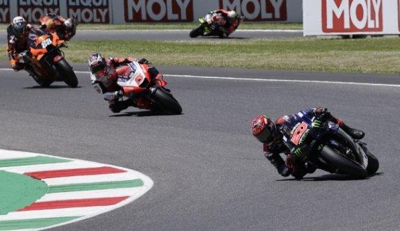MotoGP İtalya Grand Prix'sinde kazanan Quartararo