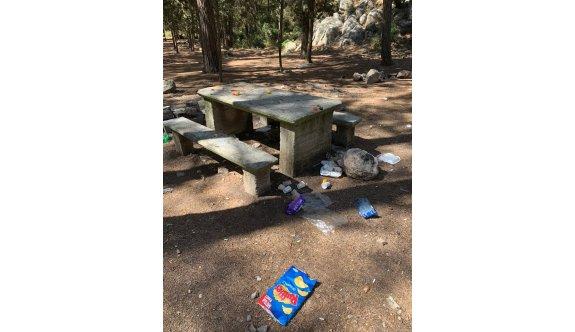 Piknik alanları pisliğe boğuldu
