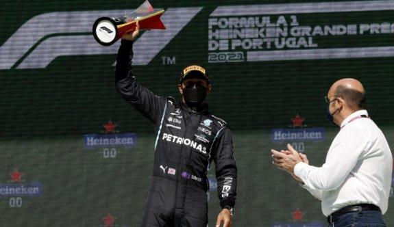 Portekiz GP'de zafer Hamilton'ın