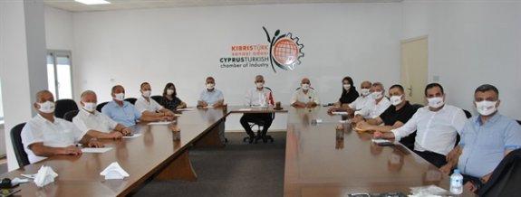 Sanayi Odası'nda Kamacıoğlu yönetimi görev dağılımı yaptı
