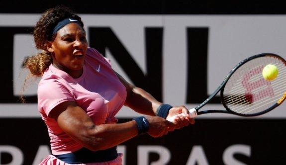 Serena Williams İtalya Açık'a erken veda etti
