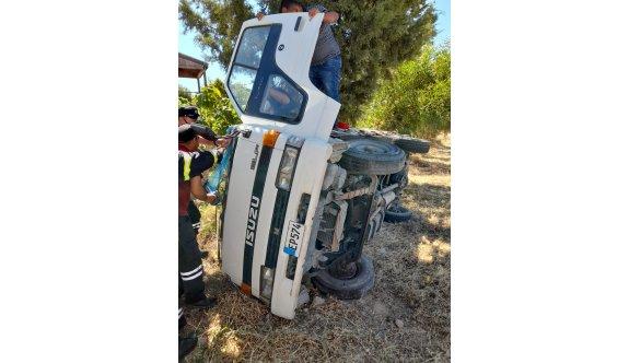Taşkent- Haspolat yolunda iki araç çarpıştı, bir kişi yaralandı