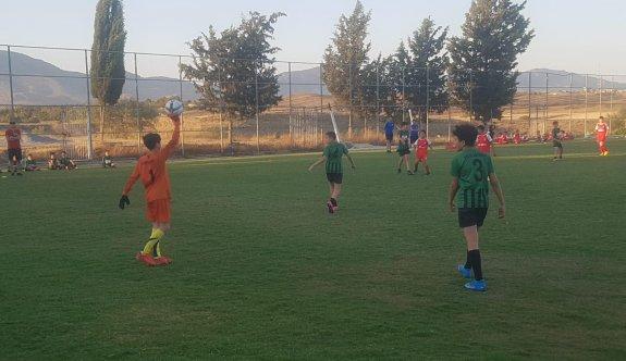 Tepe'de futbol keyfi yaşandı