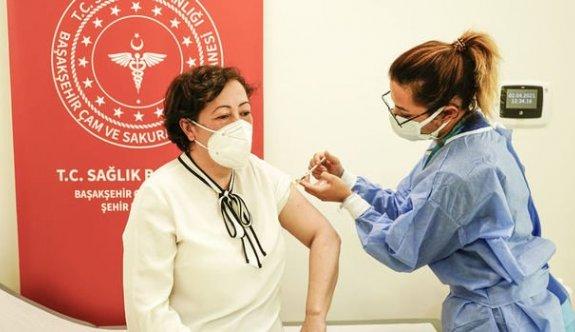 Türkiye'de  toplam yapılan aşı sayısı 24 milyon 353 bin 636 oldu