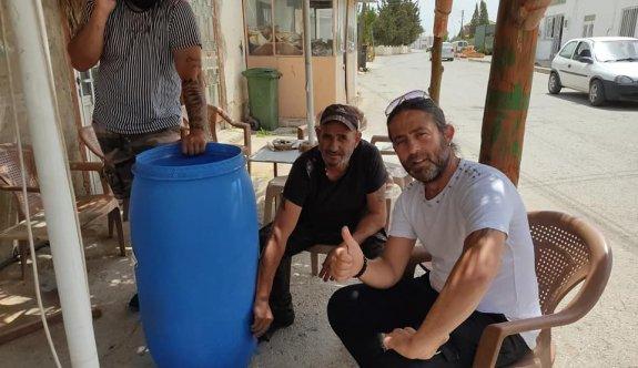 Türkmenköylü avcılardan doğaya can suyu