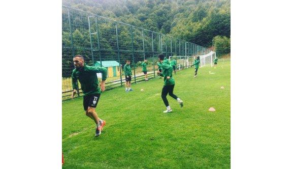 Yeşilova antrenmanlara başlıyor