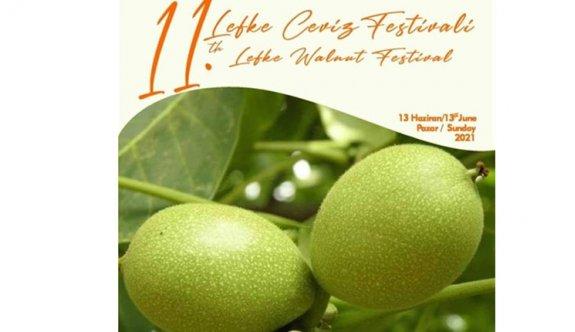 11. Lefke Ceviz Festivali 13 Haziran'da yapılıyor