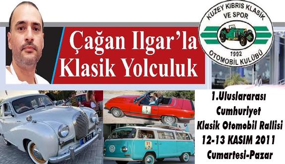 1.Uluslararası Cumhuriyet Klasik Otomobil Rallisi