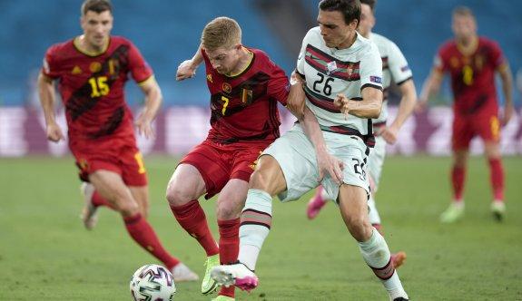 Belçika tek golle çeyrek finalist