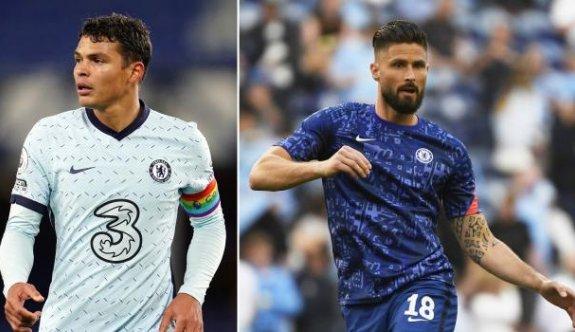 Chelsea, Silva ve Giroud ile devam dedi