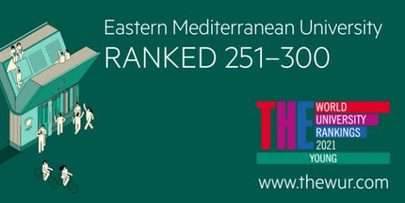 DAÜ dünyada en iyi genç üniversiteler sıralamasına girdi
