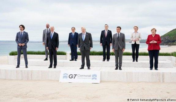 G7 ülkelerinin liderleri İngiltere'de buluştu