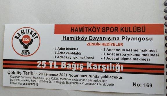 Hamitköy'den zengin dayanışma piyangosu