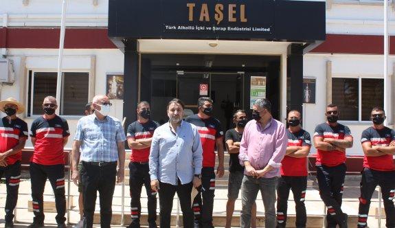 Kamu-Sen, TAŞEL'de süresiz grev başlattı