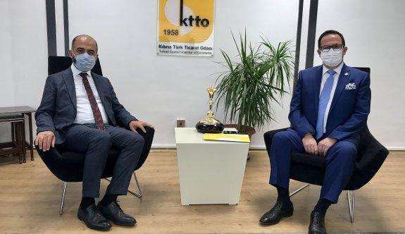 KEİ Koordinatörü Cihan'dan KTTO'ya ziyaret