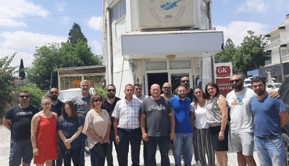 Kıbrıs Türk Hava Sporları Federasyonu çalışanları açlığa mahkûm edildi