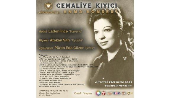 Kıbrıslı Türk ilk kadın Opera Sanatçısı Cemaliye Kıyıcı anılacak