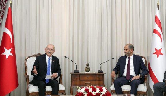 Kılıçdaroğlu, Özersay ile görüştü