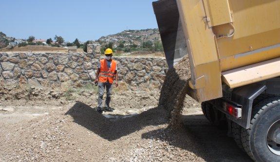 Köy yollarının yapımı başlıyor