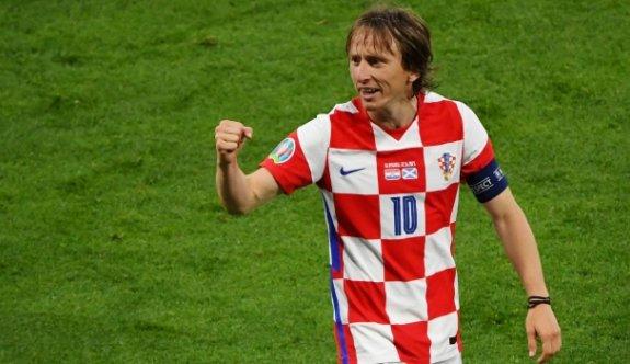 Luka Modric'ten ilginç rekor