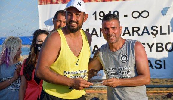 Maraşlı Anı Turnuvasının şampiyonları belirlendi