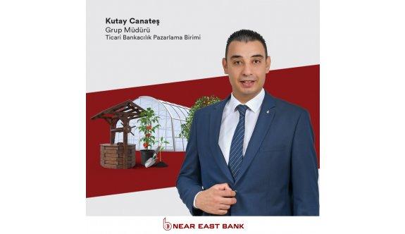 Near East Bank'tan sürdürülebilir sebze meyve yetiştiriciliğine finansal destek