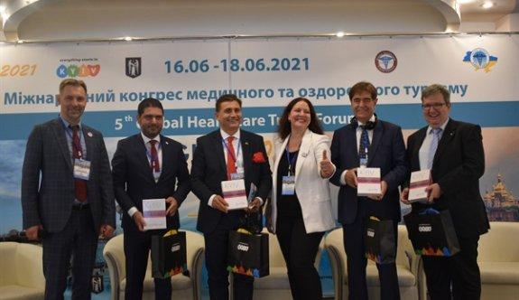 Savaşan Dünya Sağlık Turizmi Konseyi'nde 3.ncü kez Başkan Yardımcısı