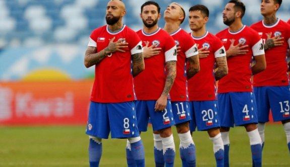 Şili çeyrek finalde