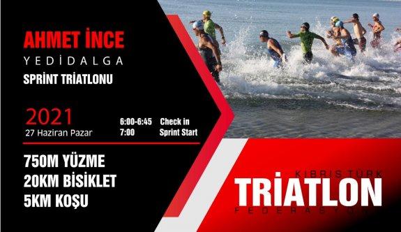 Triatletler Ahmet İnce anısına Yedidalga'da yarışacak