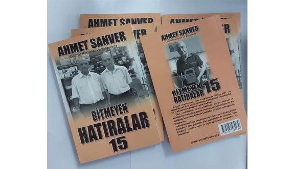 Ahmet Sanver'in 15. kitabı yayımlandı