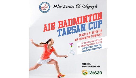 Badmintonda, büyükler ve gençler yarışacak