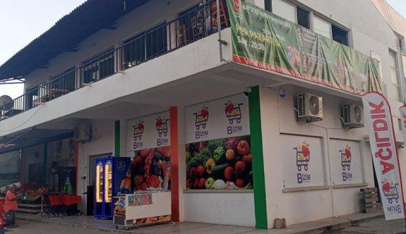 Baf'tan market hamlesi