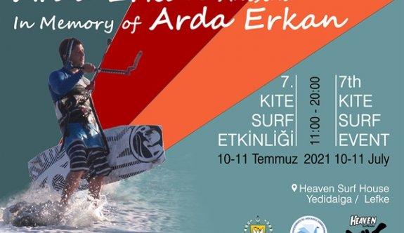 """""""Başka Ardalar Ölmesin"""" sloganı ile """"Kite Surf"""" etkinliği düzenleniyor"""