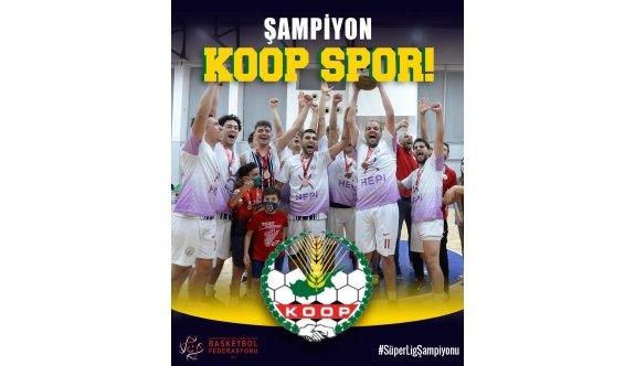 Basketbolda yılın beşi KoopSpor'dan