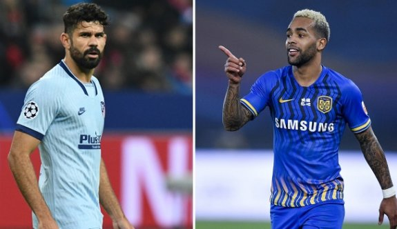 Beşiktaş, Costa ve Teixeira'dan haber bekliyor