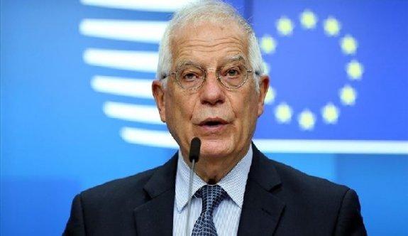 """Borrell """"Türk eylemleri geri alınmalı, aksi takdirde yaptırım uygulanacak"""""""