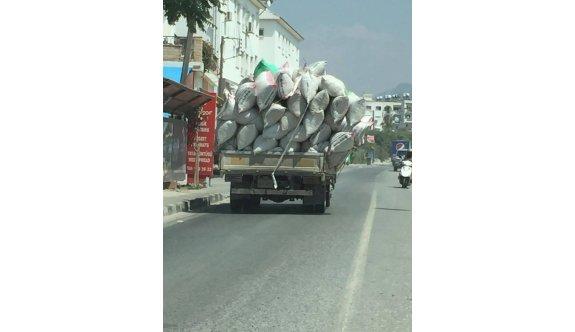 Böyle taşıma mı olur?